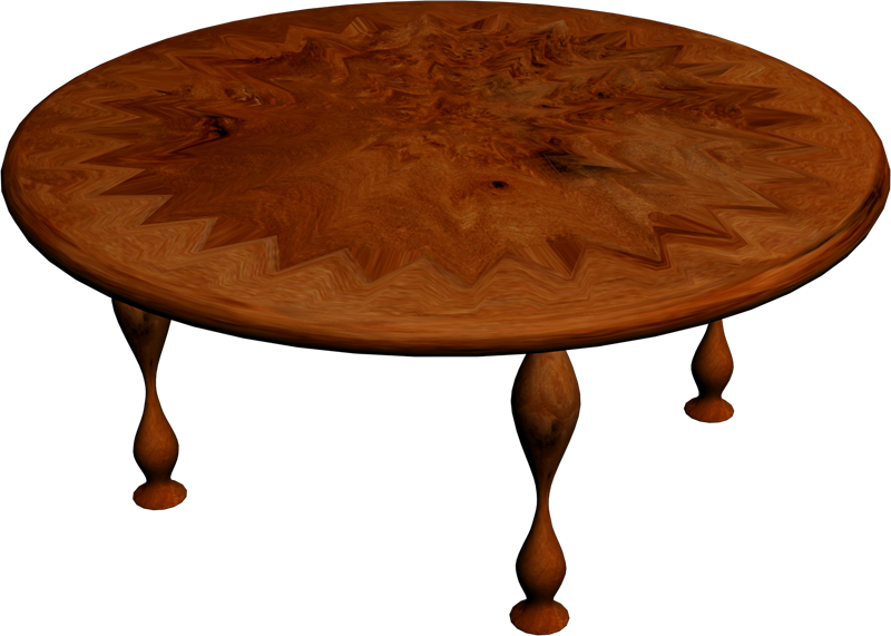 Vivid Vizion 3D Objects Other Wooden Table